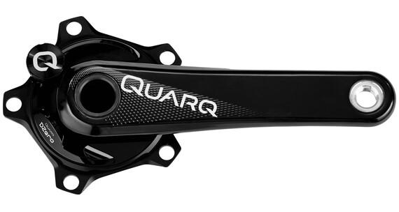 QUARQ DZero GXP Powermeter Zwengel 110mm Carbon zwart